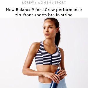0fcfe40fcb30b J. Crew Intimates & Sleepwear - J.CREW x NEW BALANCE Navy Striped Sports